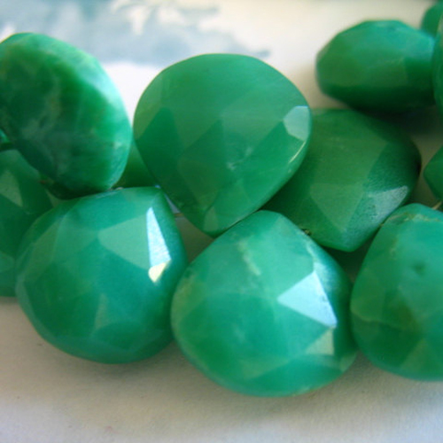 Green Gemstones Wired For You By Janice M Wolfe